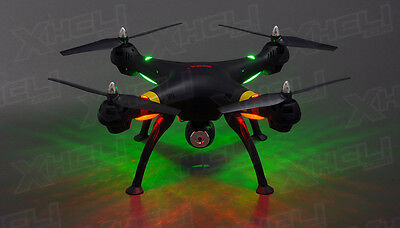 Syma X8C Volunteer 4Ch 2.4 Ghz RC Quadcopter Drone HD Camera 6 Axis 4GB sd 3D Flip