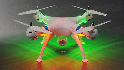 Syma X8C Risk 4Ch 2.4 Ghz RC Quadcopter Drone HD Camera 6 Axis 3D Flip 4GB sd