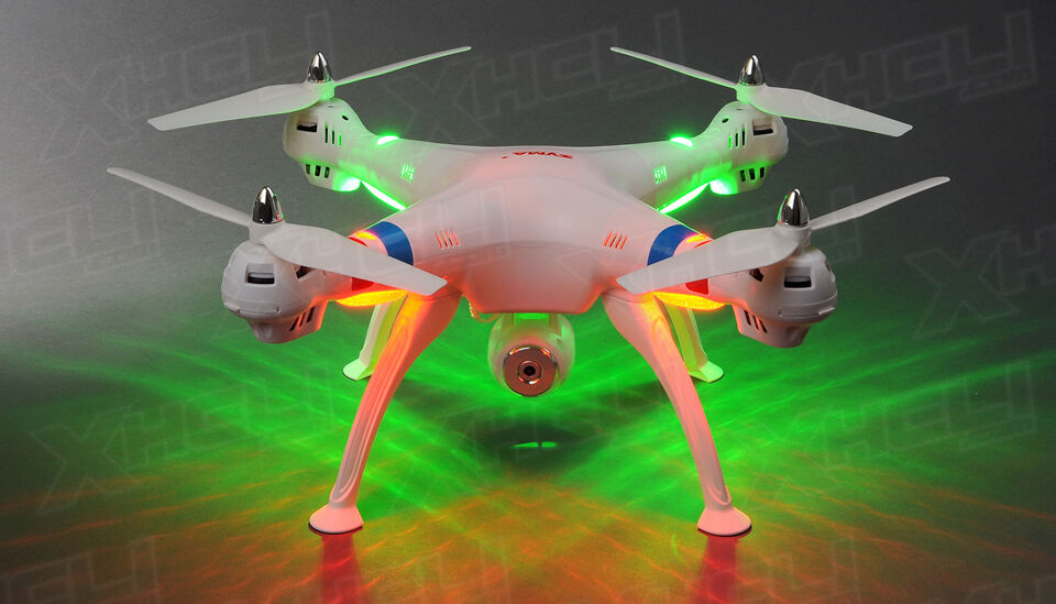 Syma X8C Venture 4Ch 2.4 Ghz RC Quadcopter Drone HD Camera 6 Axis 3D Flip 4GB sd
