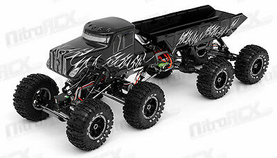 Exceed RC 1/8 Mad Torque 8x8 Rock Crawler Off-Road Monster Truck 2.4ghz RTR NEW