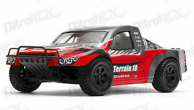 1/10 Scale Exceed Racing Terrain Short Course RC Truck Ready to Run 2.4ghz Red for sale  La Puente