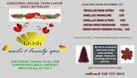 Christmas special for nails and skin care