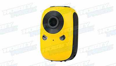 Mini Car Action Sport Camera w/ Motion Sensor and WiFi HD 1920x1080 30fps YELLOW
