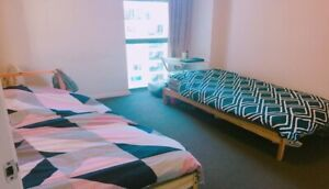 LOOKING FOR 1 GIRL for twin bed room / CBD, World square, Central
