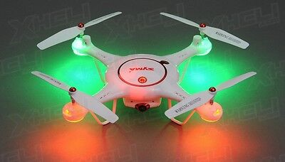 Syma X5UC Drone Camera Quadcopter 2.4G RC Gyro Well-disposed to Fly +2 Batteries +16GB