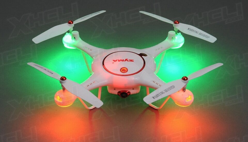 Syma X5UC Drone Camera Quadcopter 2.4G RC Gyro Ready to Fly +2 Batteries +16GB