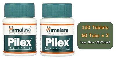 Himalaya Herbal Piles Pilex 120 Tablets| Haemorrhoids Fissures & Varicose Veins
