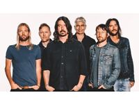 Foo Fighters - Two standing tickets - Friday 22 June - Face Value