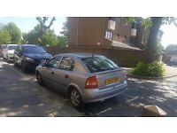 Vauxhall Astra, 2002 plate, £250 Ono. Used daily, good runner.