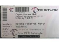 Rewind Festival weekend ticket