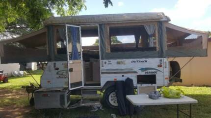Jayco hawk outback offroad camper Mount Louisa Townsville City Preview
