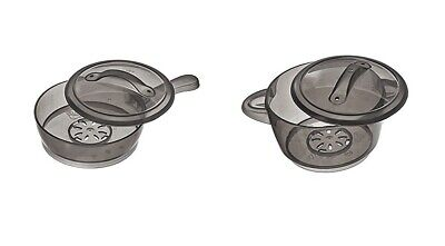 NEW~ STEP2 Pretend Play Kitchen Replacement Boiling Pot and Pan with Lids