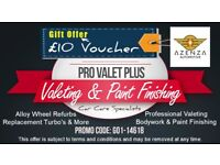 Pro Valet Plus - Professional Valeting Service, light body repairs, paint finishing & more