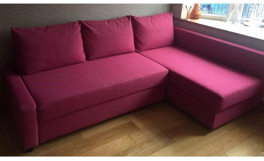 Ikea Friheten Hot Pink Corner Sofa Bed Immaculate