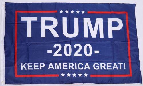 3x5 DONALD TRUMP 2020 FLAG KEEP AMERICA GREAT MAKE AMERICA GREAT AGAIN MAGA KAG