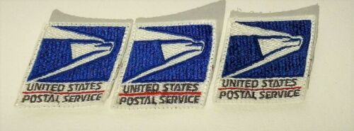 Vintage USPS Post Office United States Postal Service Patch Bullet Sonic Eagle
