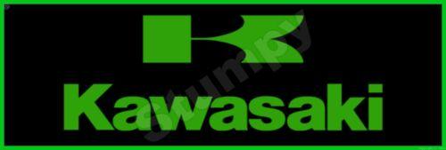 """Kawasaki  Metal Sign 6"""" x 18"""""""