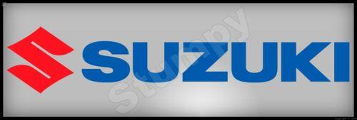 """Suzuki  Metal Sign 6"""" x 18"""""""