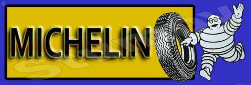 "Michelin Tire  Metal Sign 6"" x 18"""