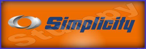"""Simplicity Metal Sign 6"""" x 18"""""""