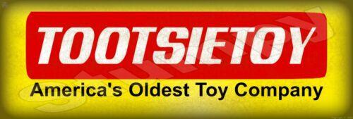 "TootsieToy  Metal Sign 6"" x 18"""