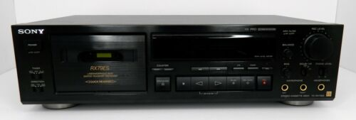 SONY Cassette Deck TC-RX79ES HX PRO Dolby - TESTED -