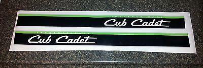CUB CADET 108 HOOD DECAL STICKER TRACTOR