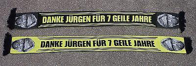 Danke Jürgen Schal + DANKE JÜRGEN FÜR 7 GEILE JAHRE  + neu +  Fan Ultra Kurve