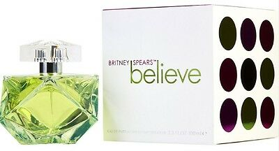 Believe By Britney Spears Eau de Parfum Spray for Women 3.4 oz