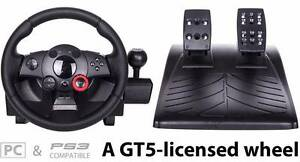 Logitech Driving force GT force feedback wheel as new Hurstville Hurstville Area Preview