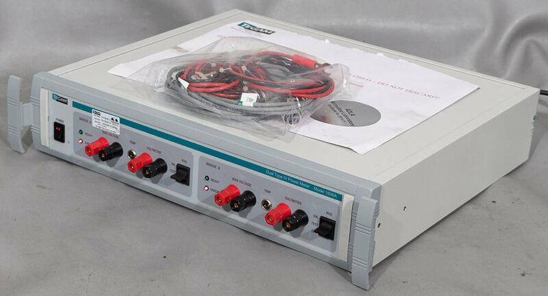 NEW Tegam Weinschel 1806A Dual Type IV Power Meter
