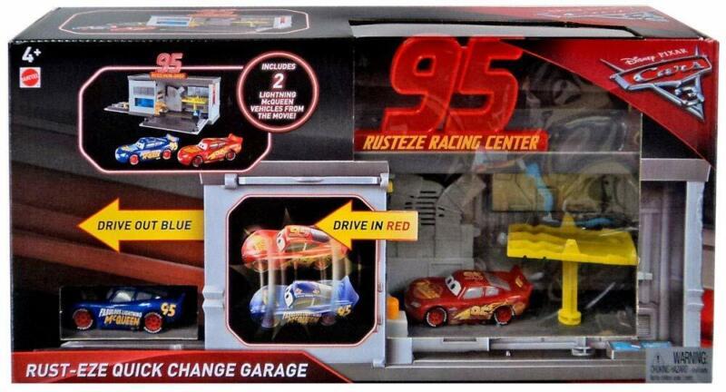 Disney Pixar Cars 3 Rust-eze Quick Change Garage FHR10 NEW NEVER BEEN ON SHELF