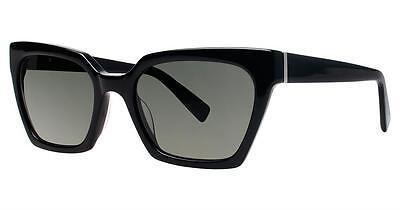 Seraphin Neoclassic Polarized Sandra Sunglasses Black Frame Grey Lens