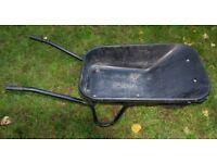 Wheel barrow - used, black , Walsall B&Q model, 85 litre capacity