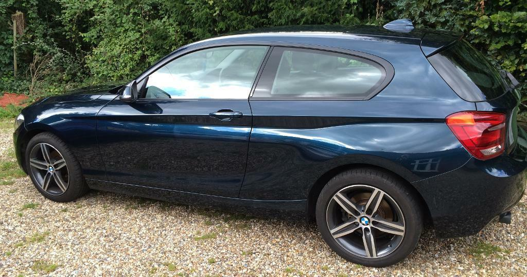 BMW 1 Series 114i Sport, 1.6L, 3 Door, 2013, Midnight Blue, 1 Year ...