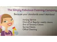 The Simply Fabulous Cleaning Compnay