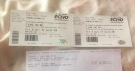 I love 90's tour x 2 tickets