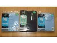 School Blue Polo Tops and/or Navy Round Neck Jumper. Brand New with Tags