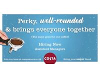 Assistant Managers Costa coffee Bristol