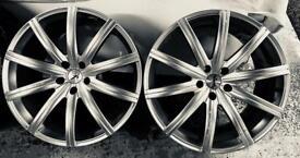 "Set of 20"" RSV Kahn alloys. Absolutely pristine"