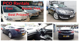 LOW DEPOSIT * ONE WEEK FREE * PCO HIRE * Exquisite vehicles from £175!!!