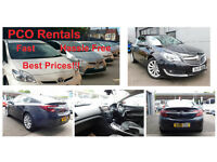 LOW DEPOSIT * ONE WEEK FREE * PCO HIRE * Up and running in no time. Exqusite vehicles from £175!!!