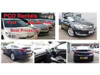 LOW DEPOSIT, ONE WEEK FREE PCO rentals. Up and running in no time. Exqusite vehicles from £175!!!