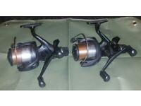 Shimano 6000 re baitrunner fishing reels