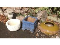 Garden Containers Pots Terracotta Stone