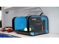 CEL ROBOX 3D Printer with warranty and 4 Spools of filament MINT condition + brand new spare head