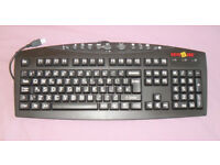 BARGAIN LARGE PRINT NEVER USED KEYBOARD £5