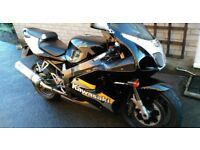 Kawasaki ZX7R Hawk Exhaust Can