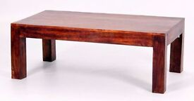 New - Solid Wood Coffee Table