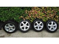"4 - 16"" Seat Alloy Wheels & Tyres"